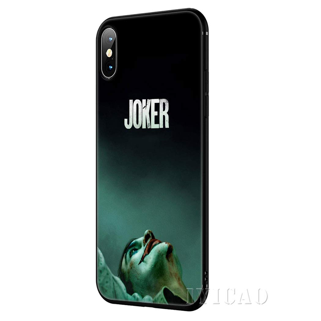 Inspired By Joaquin Phoenix Joker Phone Case Compatible With Iphone 7 Xr 6s Plus 6 X 8 9 11 Cases Xs Pro Max Clear Iphones Cases Tpu Clothes