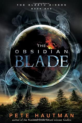book cover of The Obsidian Blade