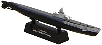 Easy Model - Submarino de modelismo escala 1:148 [Importado de Alemania]