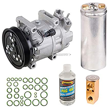 Amazon.com: AC Compressor w/A/C Repair Kit For Nissan Pathfinder & Infiniti QX4 - BuyAutoParts 60-81213RK NEW: Automotive