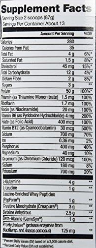 Cytosport Monster Milk Nutritional Drink, Powder Protein Supplement Mix, Vanilla Flavored, 2.6 Pound (About 13 Servings) Photo #4