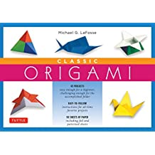 Classic Origami Kit: [Kit with Origami How-to Book, 98 Papers, 45 Projects] This Easy Origami for Beginners Kit is Great for Both Kids and Adults