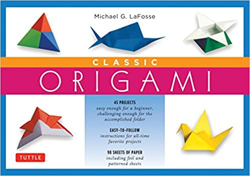 Amazon Classic Origami Kit Kit With Origami How To Book 98