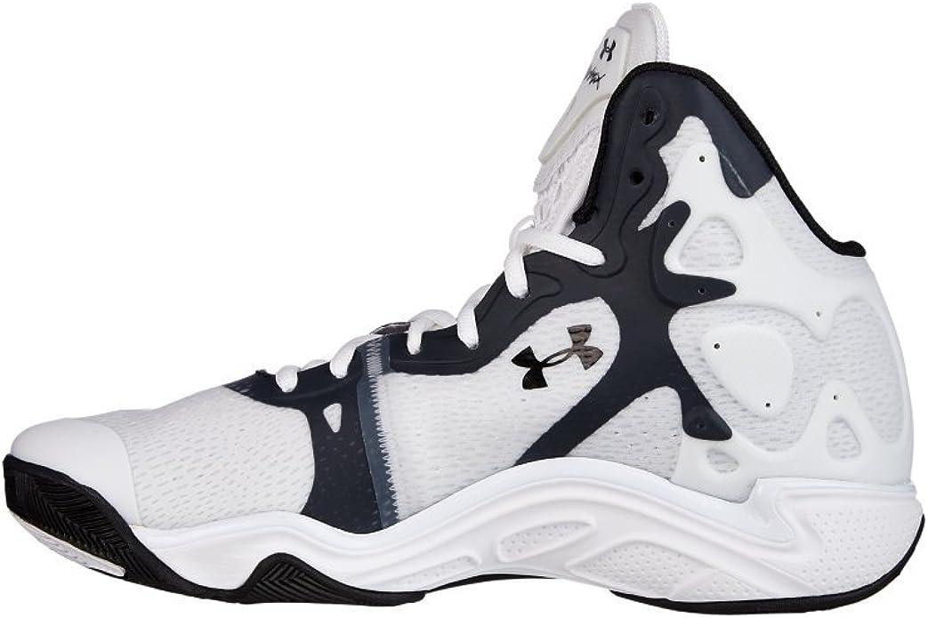 Arthur Conan Doyle aficionado velocidad  Amazon.com | Under Armour Men's UA Micro G Anatomix Spawn 2 Basketball  Shoes 15 White | Shoes