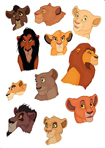 14x20 inch The Lion King Silk Poster 8GSA-BF8