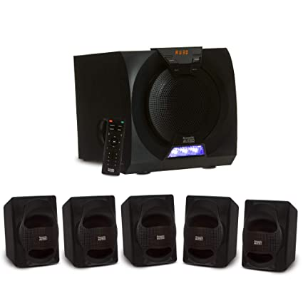 bdc967ad906 Amazon.com  Acoustic Audio AA5230 Home Theater 5.1 Bluetooth Speaker ...