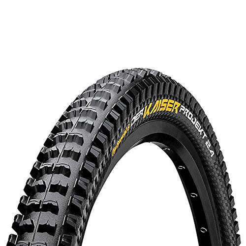 Continental Der Kaiser Projekt Fold Protection/Apex Mountain Bike Tire, 2.4 29 x 2.4-Inch, Black