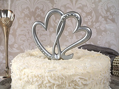 Cassiani Collection WEDDING TWO HEARTS BEAT AS ONE CAKE TOPPER