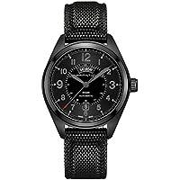 Hamilton Men's H70695735 Khaki Field Day Date Black Automatic Watch