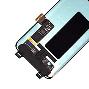 LCD Display Digitizer Touch Screen Assembly for Samsung Galaxy S8 Black G950A G950T G950V G950P SM9500 G950N G950F G950U by Mr Repair Parts