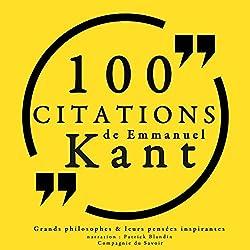 Philosophie pour tous : 100 citations d'Immanuel Kant