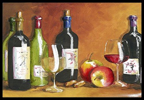 Carolines Treasures TMTR300AJMAT Wine by Malenda Trick Indoor or Outdoor Mat 24 x 36 Multicolor