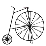 MyLifeUNIT Penny Farthing Bicycle, Wrought Iron Desk Decoration Craft Retro Bicycle Model