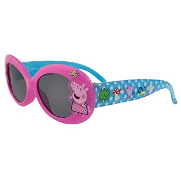 Peppa Pig White Pink Heart Design Sunglasses AGE 3 100/% UV PROTECTION