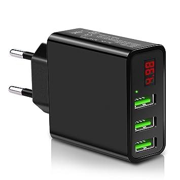 USB Cargador de viaje de indicador LED Portable Cargador ...