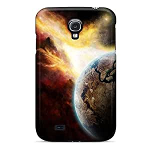 VSlvo8729OhxSr Snap On Case Cover Skin For Galaxy S4(space Art)