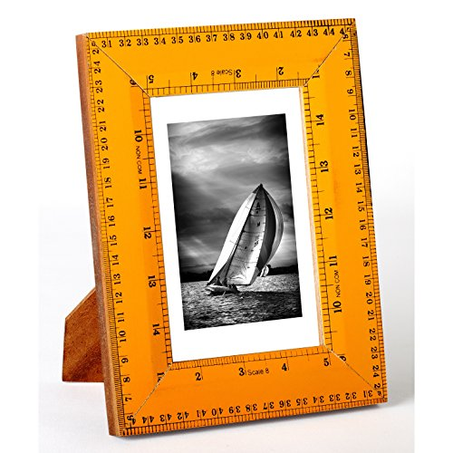 "Recycled Ruler 4x6"" Photo Frame by KINDWER -  St. Croix Trading Company, A1152"