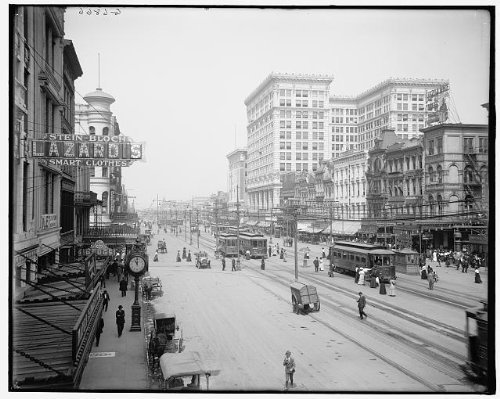 Photo: Canal Street,commercial facilities,buildings,New - Map Canal Shopping Street
