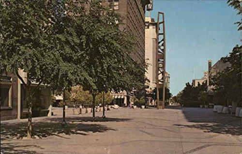 Fresno's Mall - Mariposa Clock Tower Fresno, California Original Vintage - Mall Fresno California