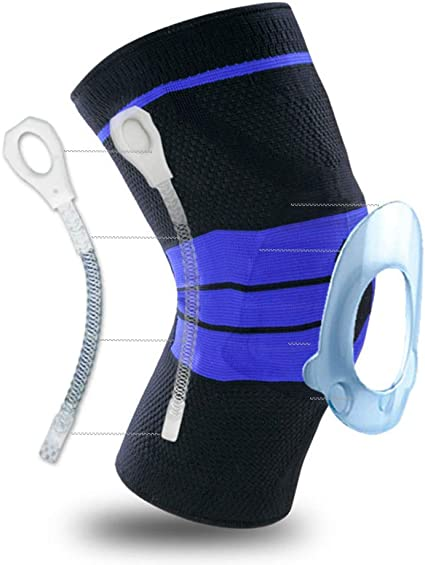 Mountain Warehouse Knee Support Brace Breathable 1 Size Compress Support M