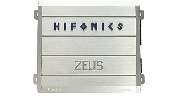 Hifonics ZRX6164 HIFONICS ZEUS 4 x 75 @ 4 Ohms 4 x 150 @ 2 Ohms 2 x 300 WATTS @ 4 Ohms Bridged: Amazon.es: Salud y cuidado personal