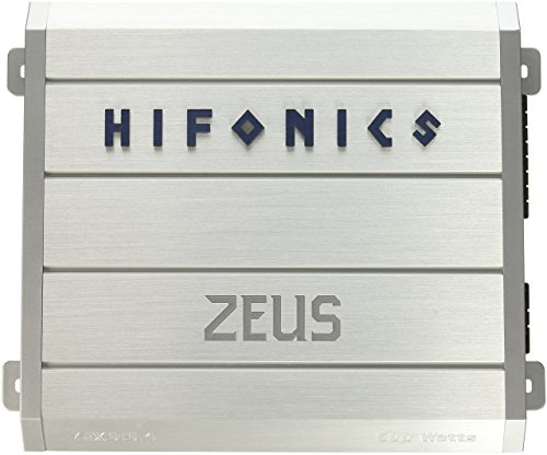 Hifonics ZRX616.4 Zeus 4-Channel Class-A/B Car Amplifier, 600-Watt ()