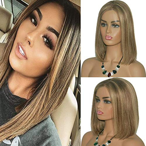 Brazilian Bleached Straight Glueless Highlight product image