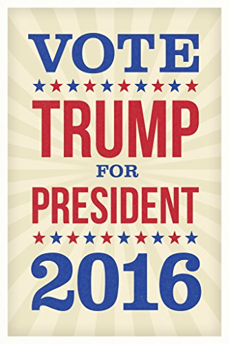 Vote Trump For President 2016 Election Poster
