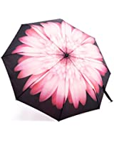 Travel Umbrella, Automatic Compact Umbrella Foldable Rain Umbrella for Easy Carrying