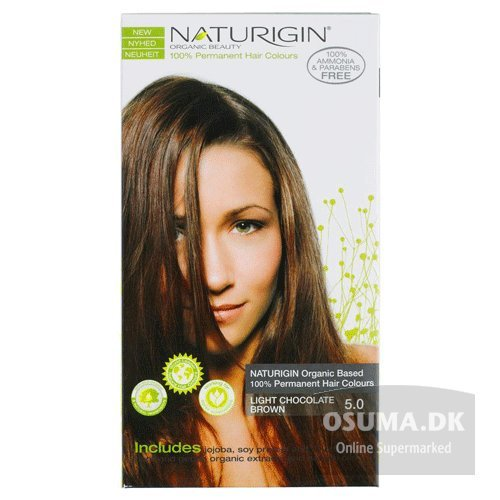 Naturigin Permanent Hair Color, Light Chocolate Brown