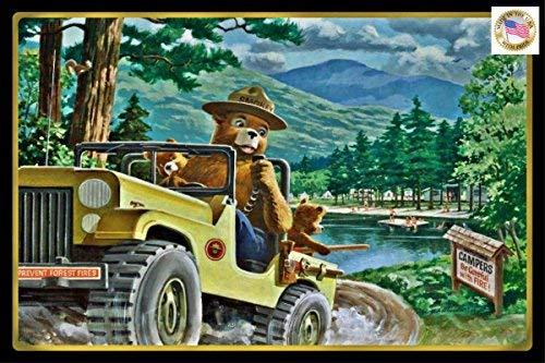 Classic Smokey Bear! 8