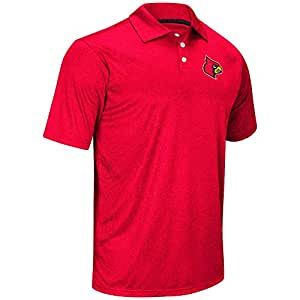 Mens NCAA Louisville Cardinals Polo Shirt (Team Color) - 2XL