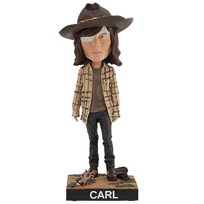 Royal Bobbles The Walking Dead Carl Grimes Bobblehead: Toys & Games