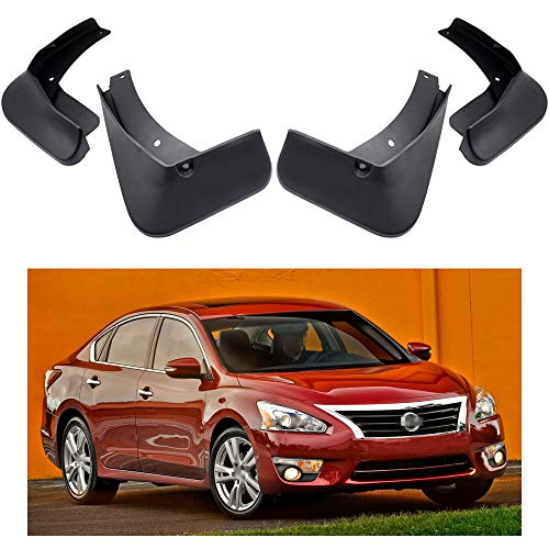 - MOERTIFEI Car Mudguard Fender Mud Flaps Splash Guard Kit fit for Nissan Altima 2013-2018 14 15 16 17