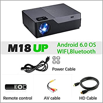 MCYY Projector Proyector Full HD M18up, Resolución 1920x1080 ...