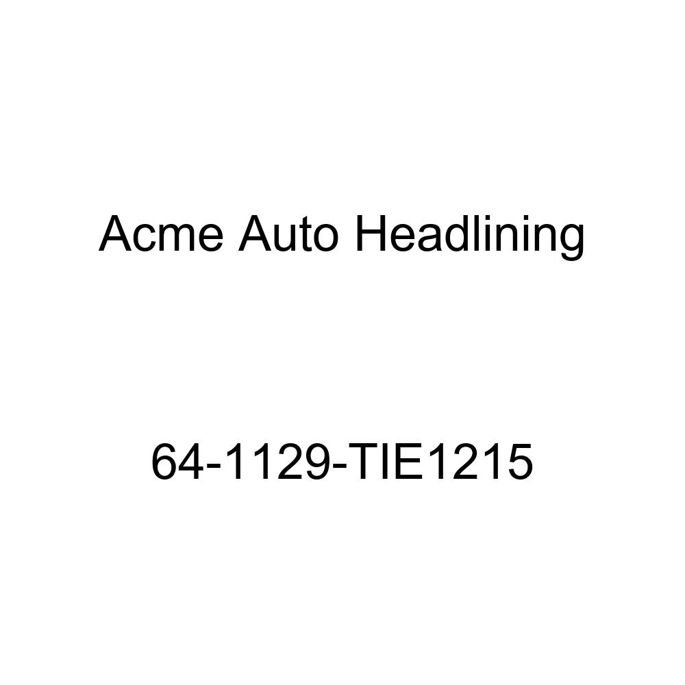Acme Auto Headlining 64-1129-TIE1215 Turquoise Replacement Headliner Buick Special 4 Door Deluxe Wagon Without Skylight