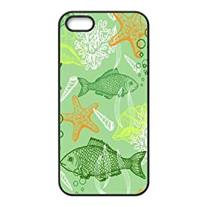 Iphone 5,5S Sea creatures Phone Back Case Customized Art Print Design Hard Shell Protection MN099734