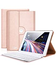 iPad Mini 4 Keyboard Case, COO iPad Cover with Keyboard for iPad Mini 4 Built in Removable Bluetooth Wireless Keyboard with 360 Degree Rotation and Auto Sleep/Wake Function