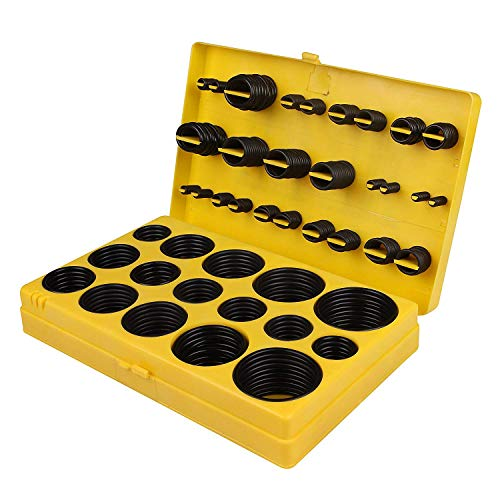 Ochoos HOT-420 Pcs/32 Sizes Rubber Tap 0-Ring Sealing Gasket Washer Seal Assortment Set High Grade Rubber O-Ring Kit for Mainten - (Number of Pcs: Other)
