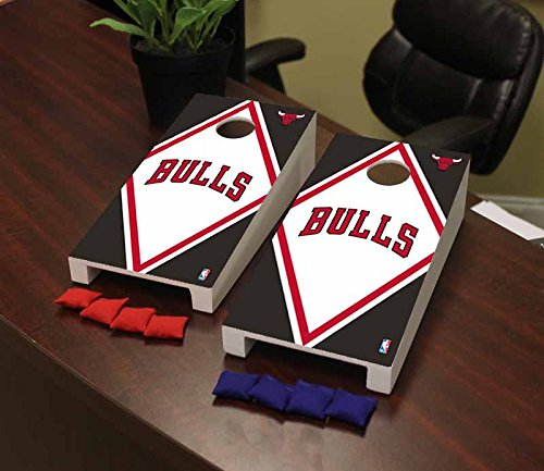 Victory Tailgate Chicago Bulls NBA Basketball Desktop Cornhole Game Set Diamond Version by Victory Tailgate