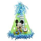 Americolor Mickey's 1st Birthday Fringe Cone Hat