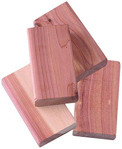 Compactor - Set da 4 blocchetti in legno di cedro