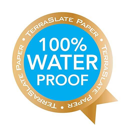 TerraSlate Paper 7 MIL 8.5'' x 11'' Waterproof Laser Printer/Copy Paper 500 Sheets by TerraSlate Paper (Image #9)