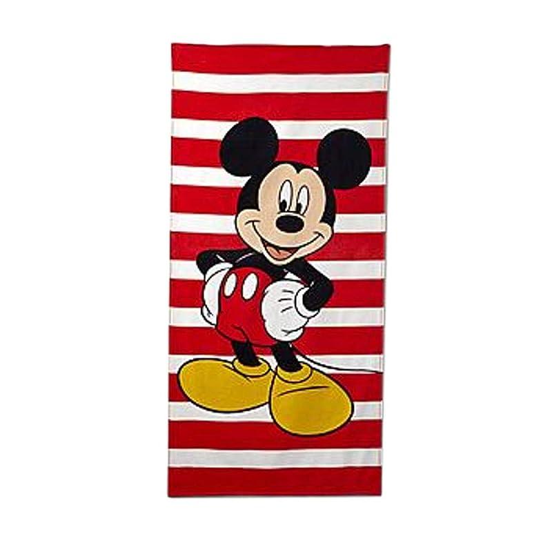 Disney Mickey Mouse Kids Beach Towel Cotton Bath Towel
