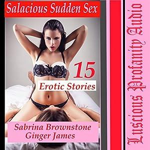 Salacious Sudden Sex: 15 Erotic Stories Audiobook