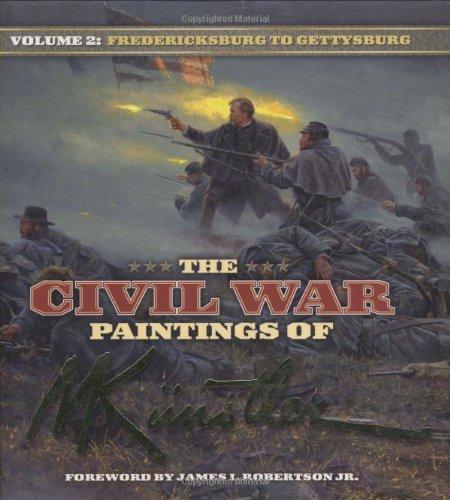 The Civil War Paintings of Mort Kunstler: Volume 2