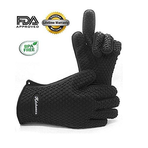 kitchonics-heat-resistant-silicone-bbq-gloves-black