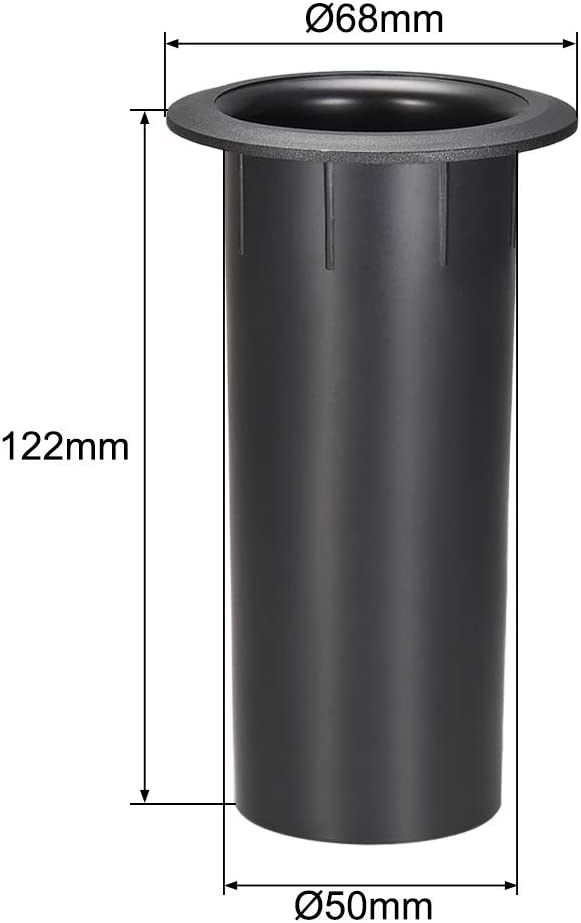 uxcell 50mm x 122mm Speaker Port Tube Subwoofer Bass Reflex Tube Bass Woofer Box 1pcs
