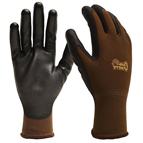 Medium Shell Grip - Gorilla Grip Men's Garden Work Glove, Medium