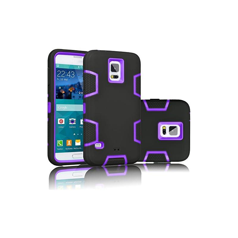 Galaxy S5 Case, Tekcoo(TM) [Troyal Serie